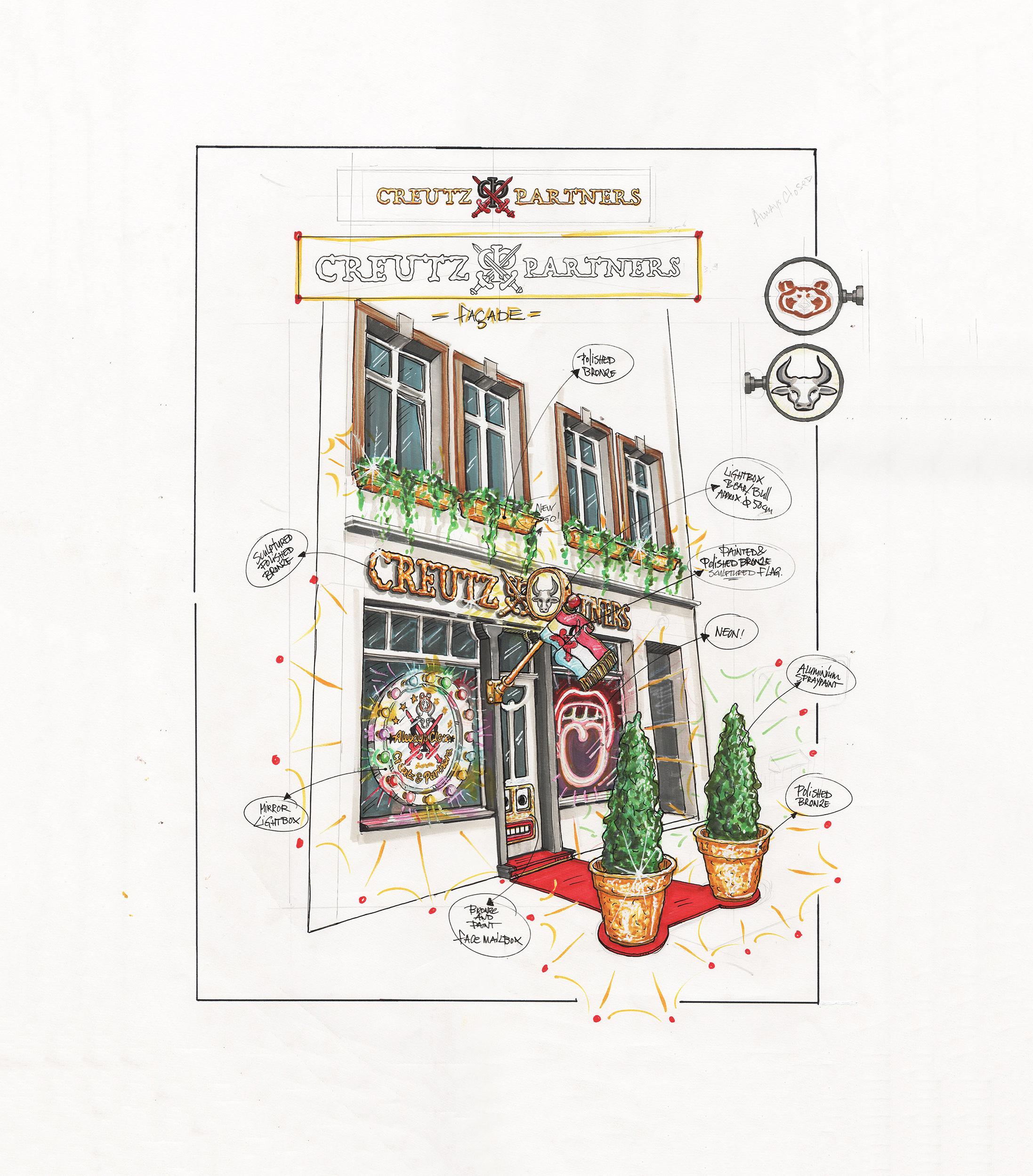 Studio Job drawing Creutz & Partners