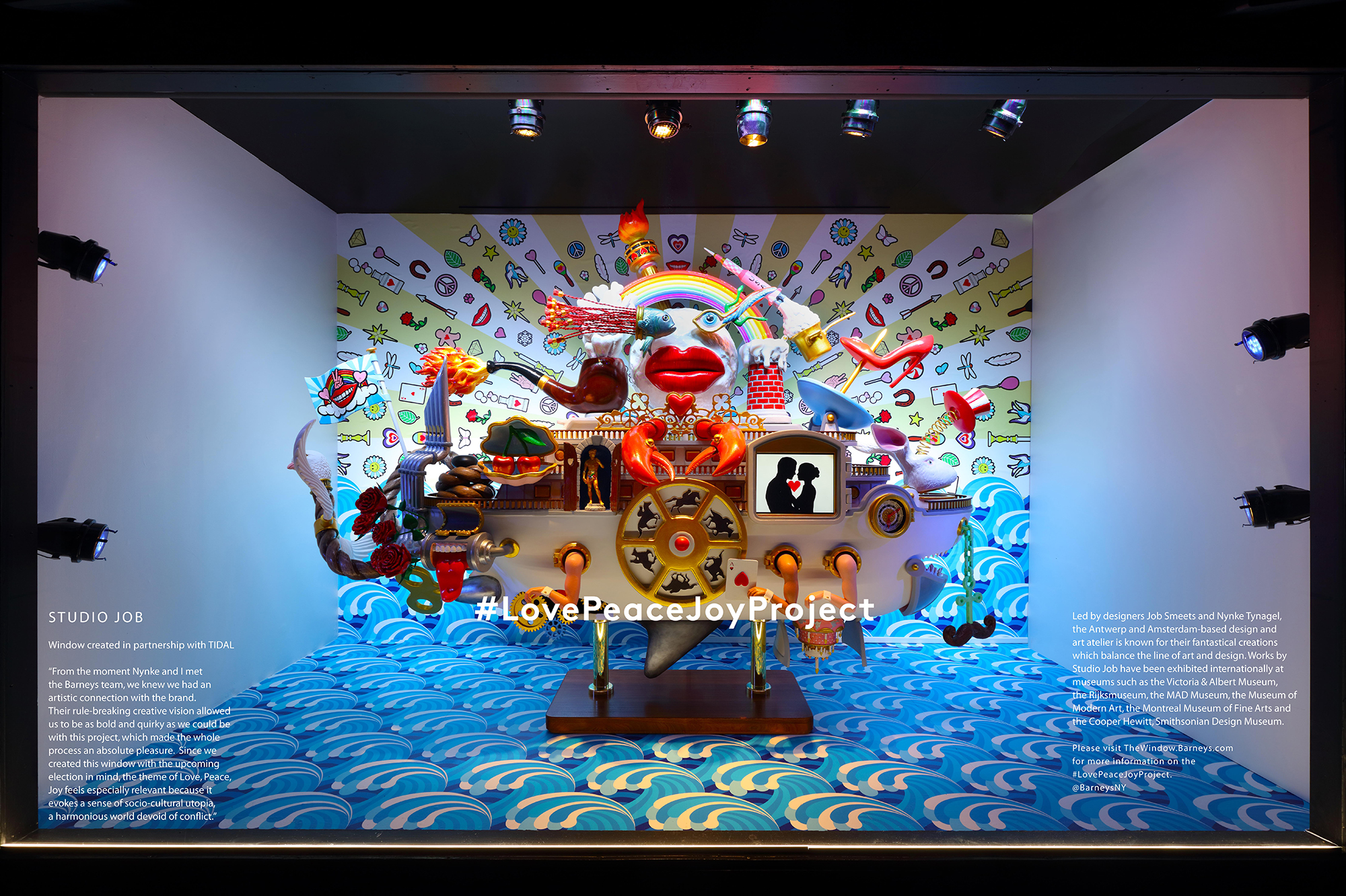 Studio Job XO Barneys Love Boat Madison frontal 3 3 3