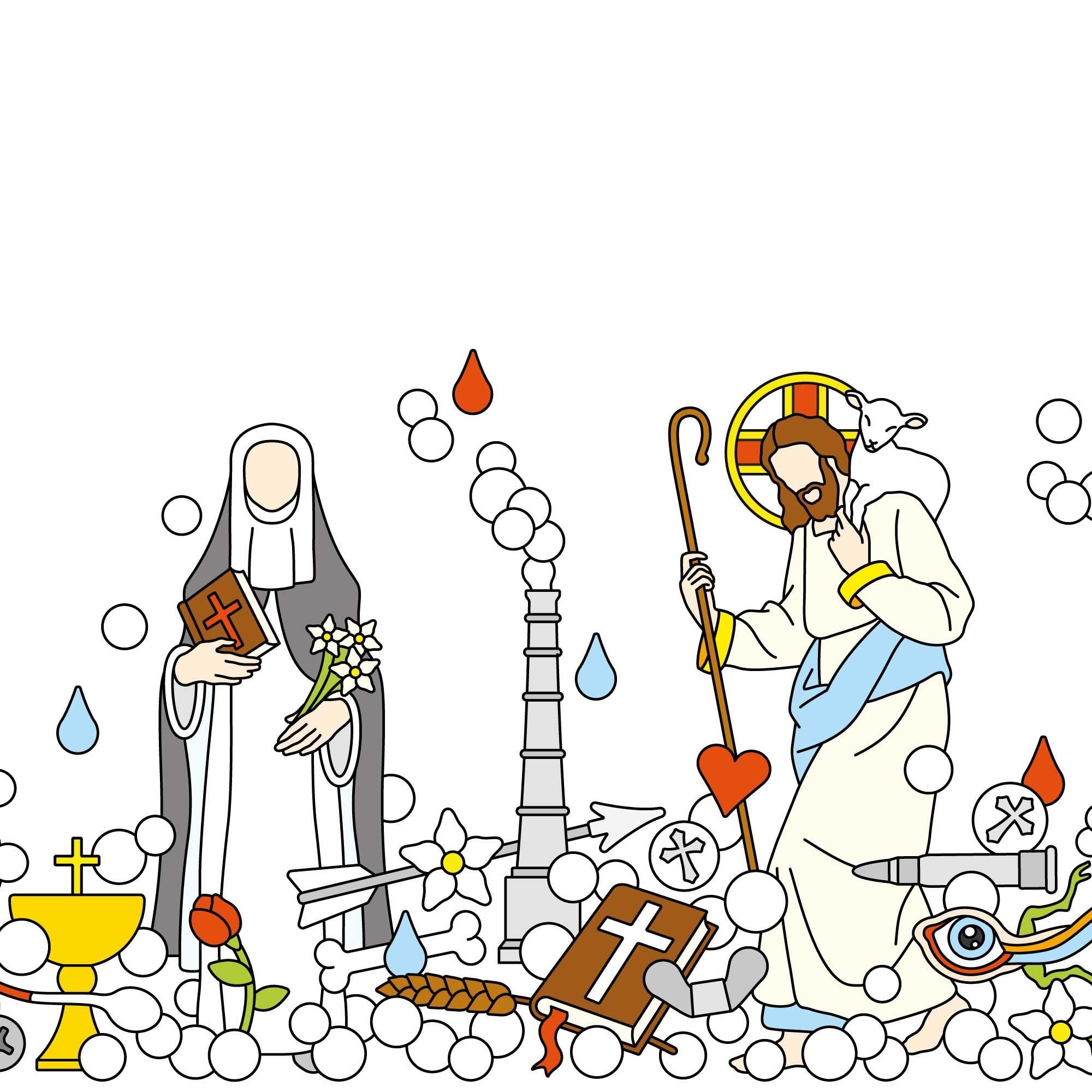 Studio-Job-The-Last-Supper-delftware-drawing-dome-All-Saints-2