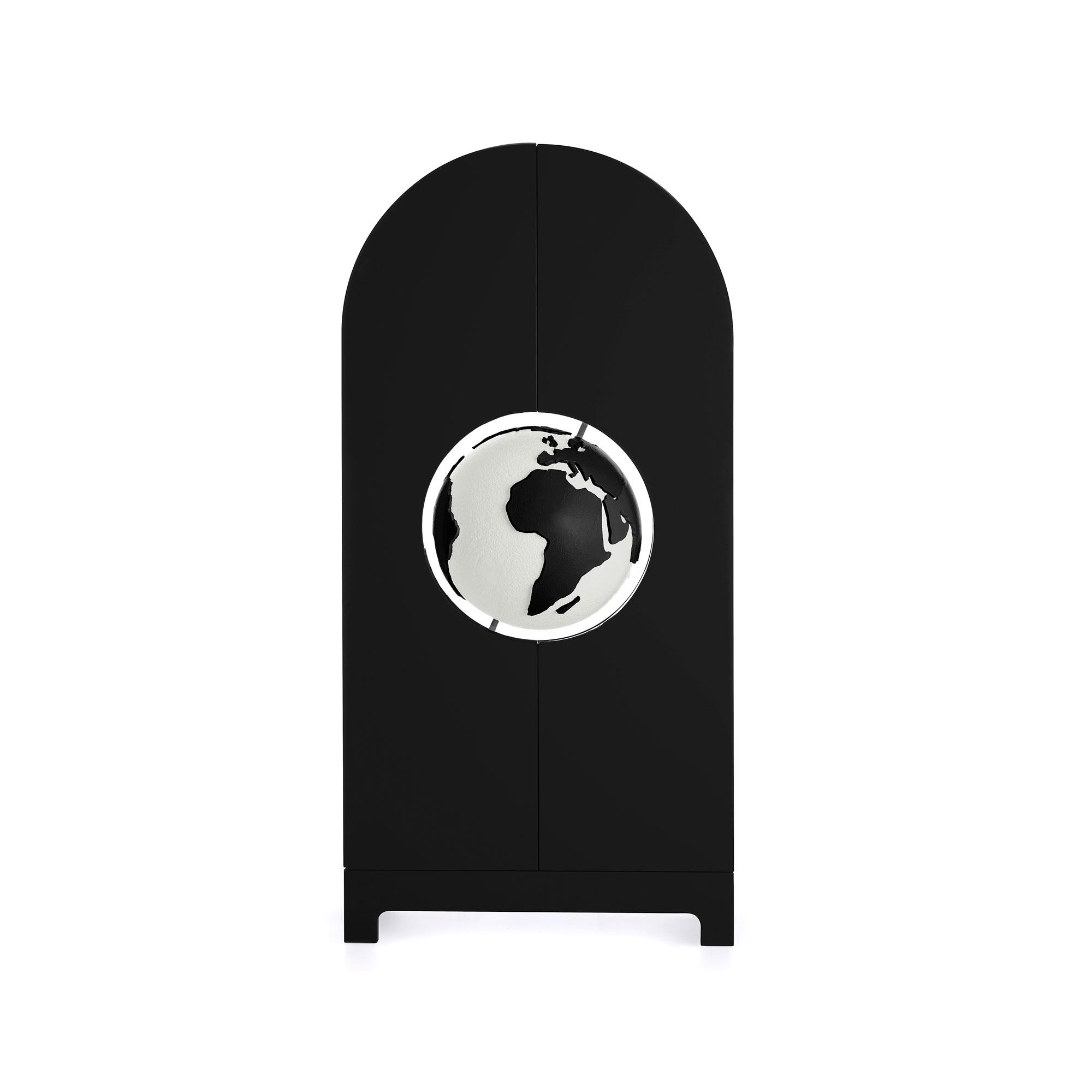 Studio-Job-Globe-Cabinet-BW-Gufram