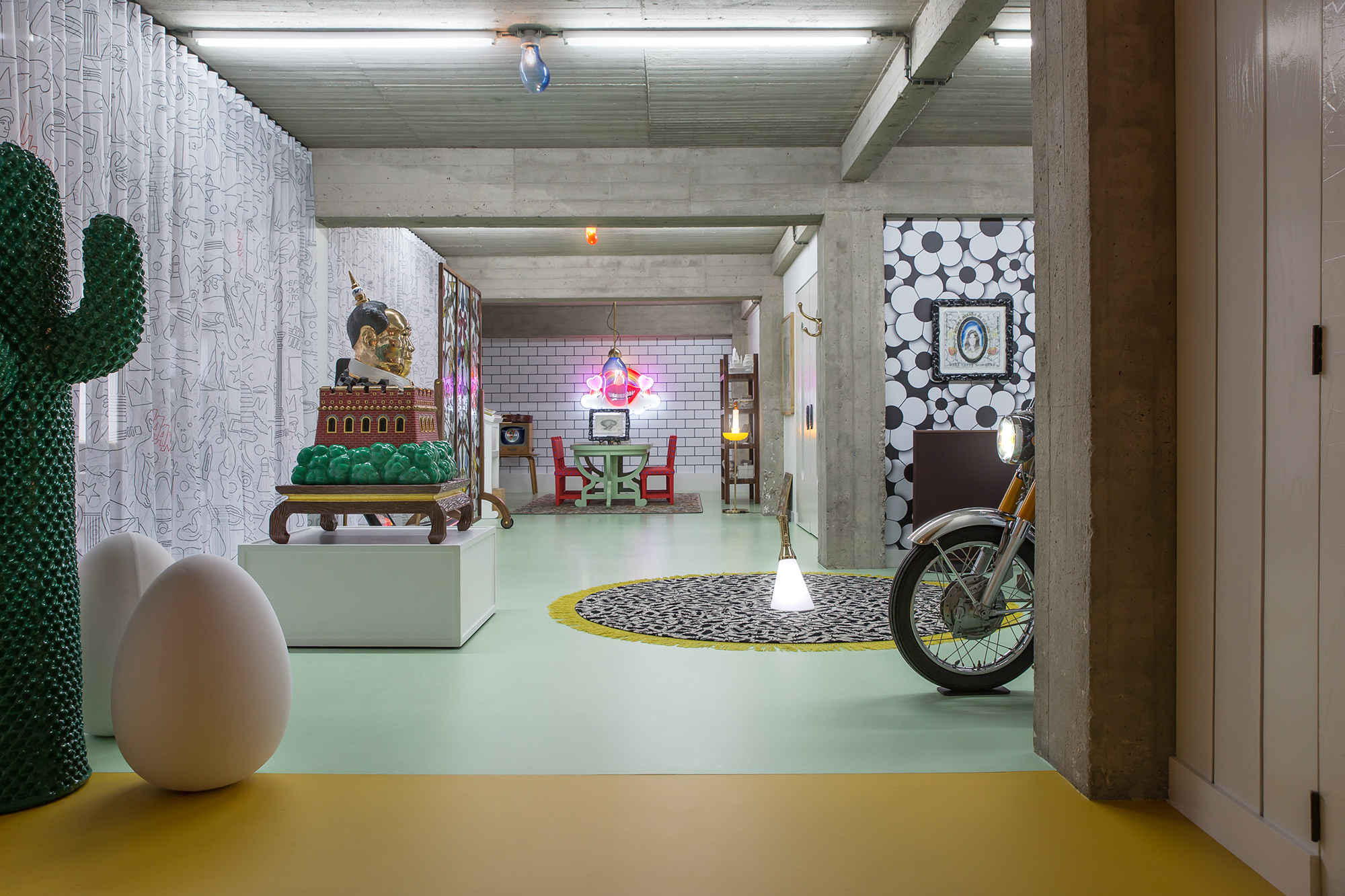 Studio-Job-redesigns-Antwerp-HQ-and-home-with-maximal-impact-Hallway3