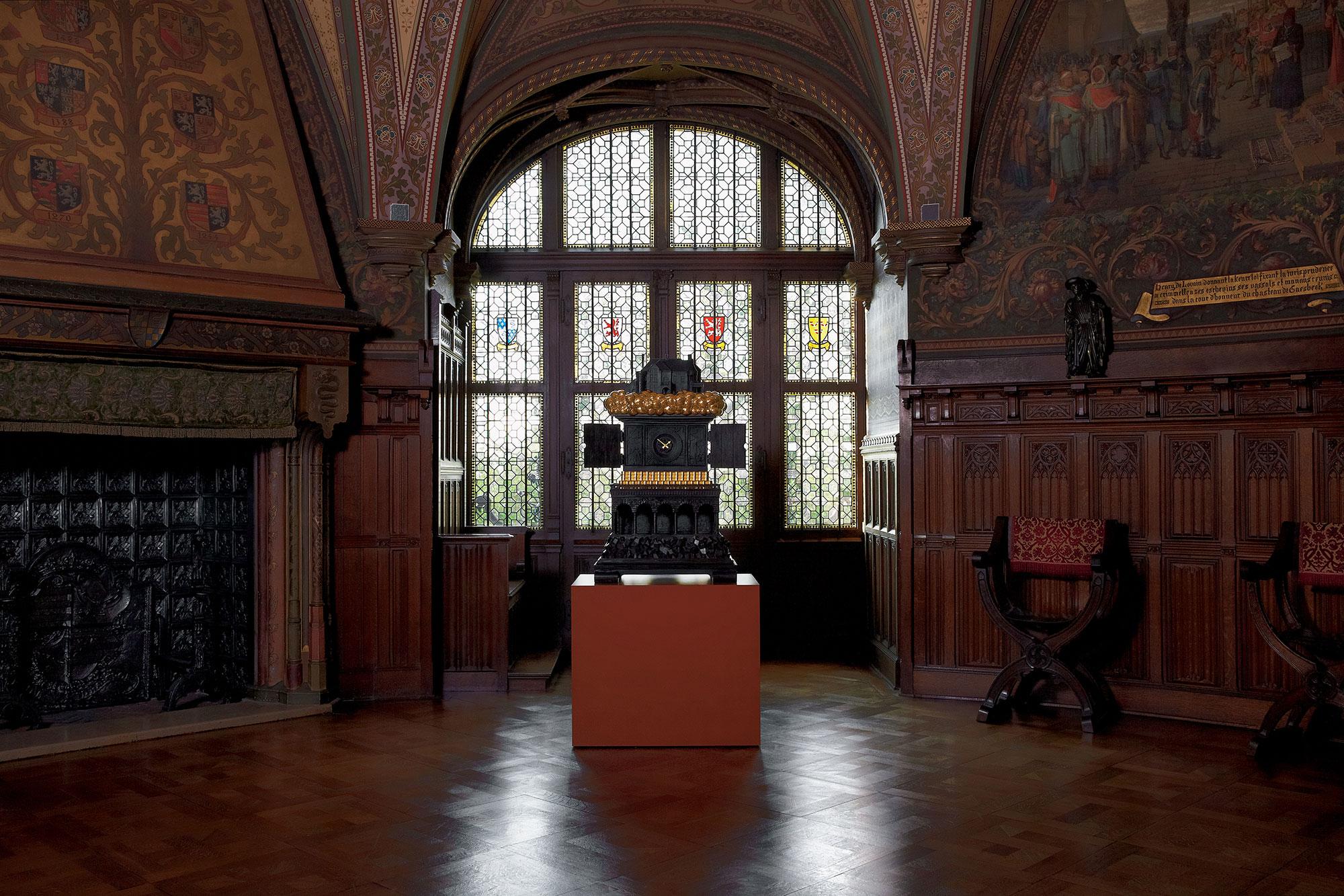 Studio-Job-Robber-Baron-Clock-Gaasbeek-Castle-Brussels