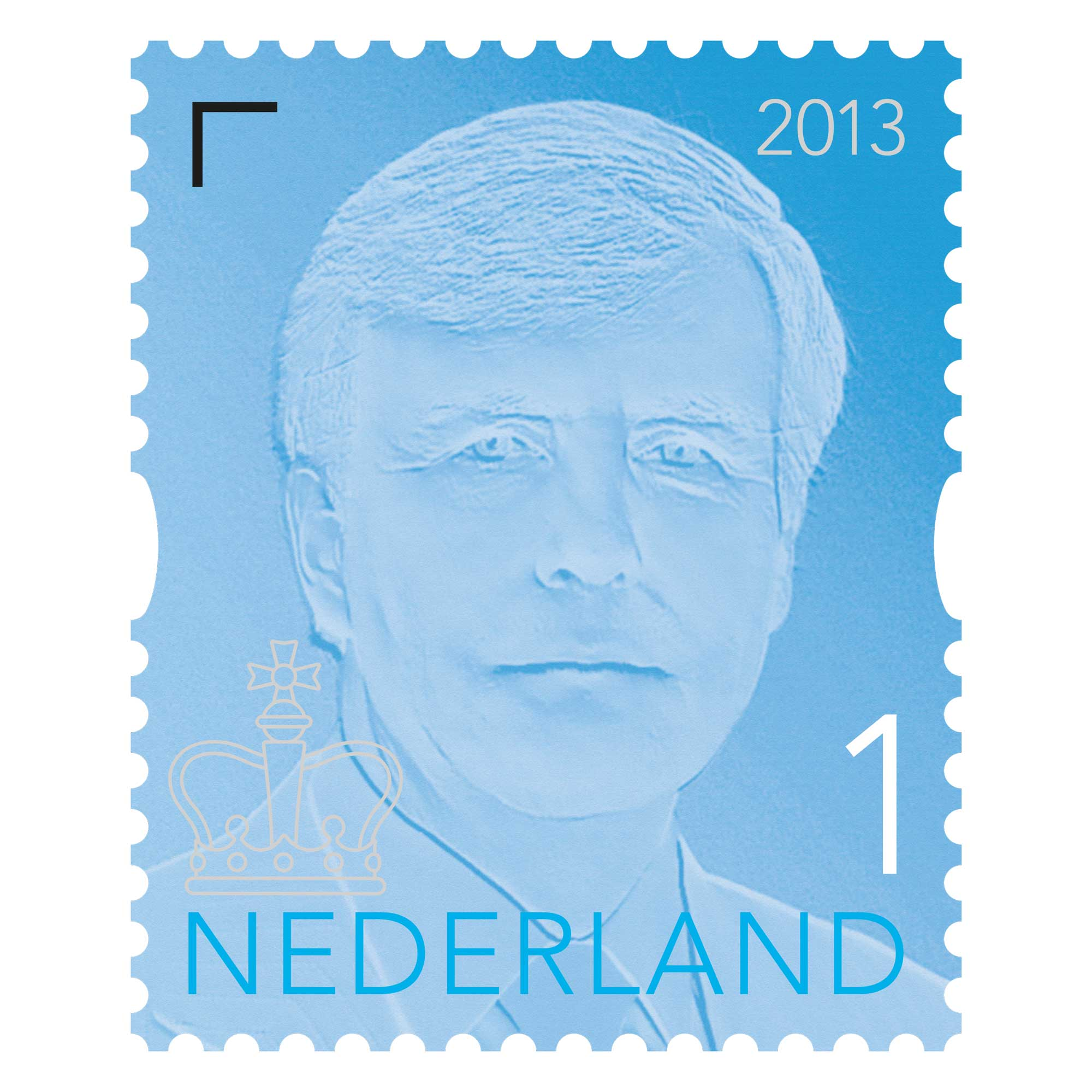 Studio-Job-King-Stamp-WA-design-v1-E56713-KING-WILLEM-CARD-OF-10-VALUE-1-COVER